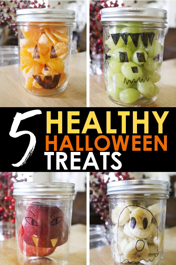 5 Easy healthy halloween treats