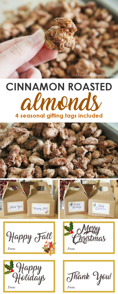 Cinnamon roasted almonds are a mainstay of state fairs and events all over the country. Learn how easy it is to make your own cinnamon roasted almonds in just 15 minutes and for a fraction of the cost of buying them!