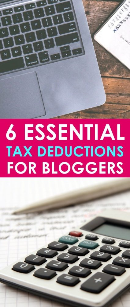 Filing taxes can be stressful enough even when you work for someone else. But when you're filing small business taxes, especially as a blogger, you really need to make sure you have all your bases covered!