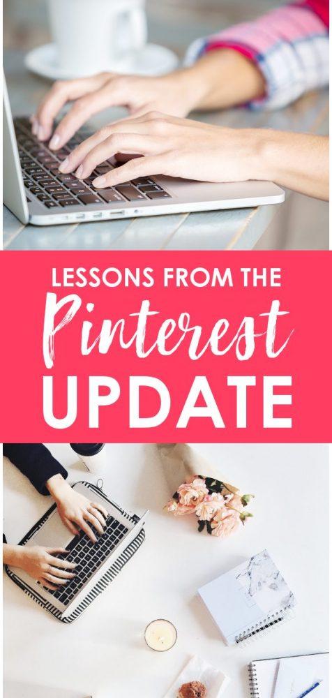 Pinterest traffic tips