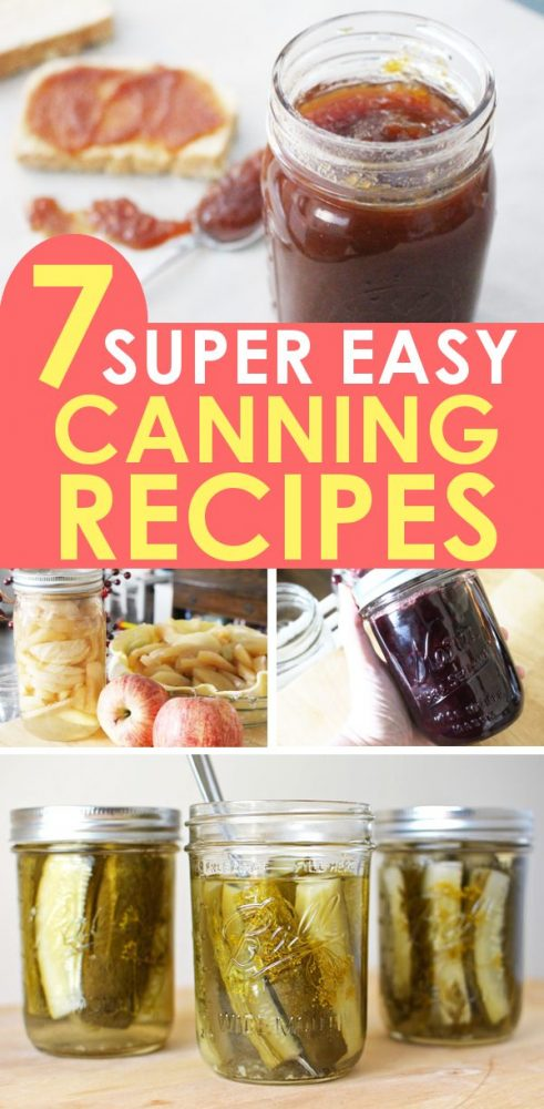 water bath canning recipes