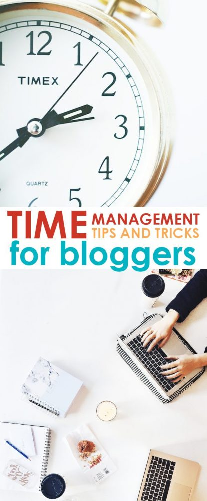 Time Management Tips: Managing your time as a blogger can be tough. These time management tips for bloggers will help you sort out where to spend your time to make the most impact!