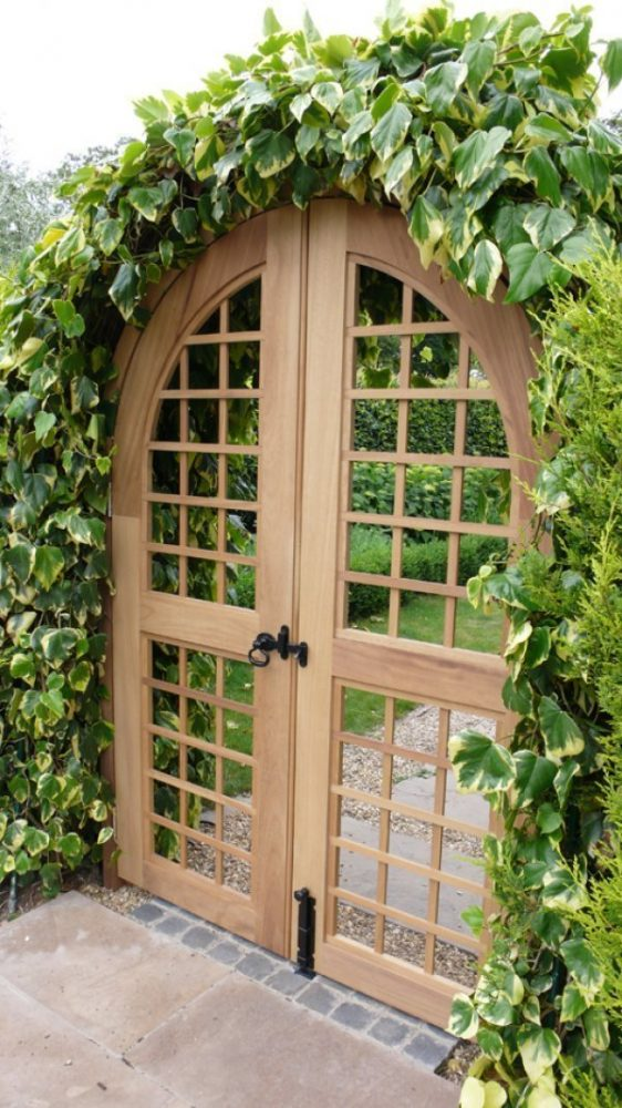 Genial Much Like The Previous Gate, This Garden Gate Provides Some Privacy Without  Blocking All The Light. This Garden Gate Door Is Trellised For A Complete  ...