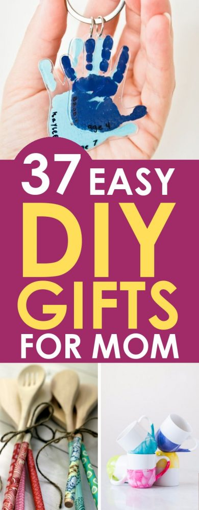 DIY Gifts for Mom in 15 Minutes or Less - For Mother\'s Day or Christmas!