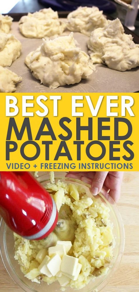 make ahead homemade mashed potatoes recipe you can freeze
