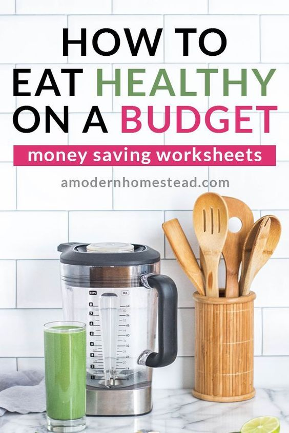 Save money on food with this easy budgeting system!