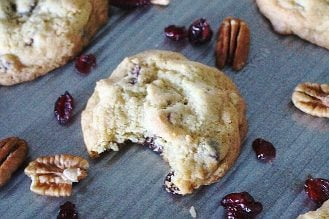Cranberry Pecan Chocolate Chip Cookies