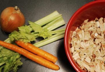 Homemade chicken soup recipe