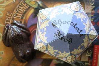 Harry Potter Chocolate frogs boxes