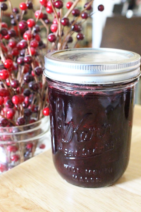 homemade canned cranberry sauce