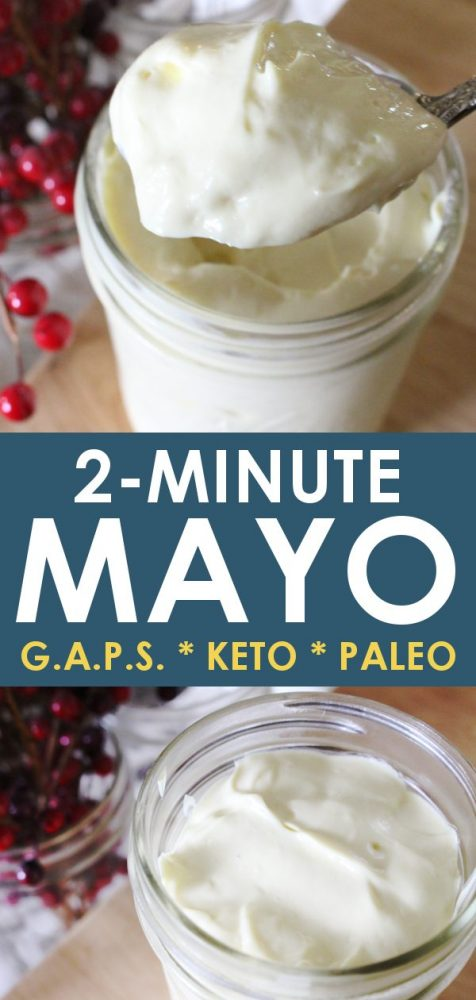 Homemade Mayo Recipe NO OLIVE OIL -- G