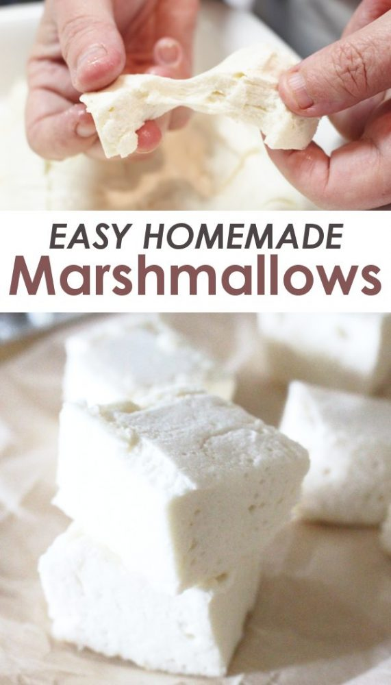 Easy DIY Homemade Marshmallow Recipe
