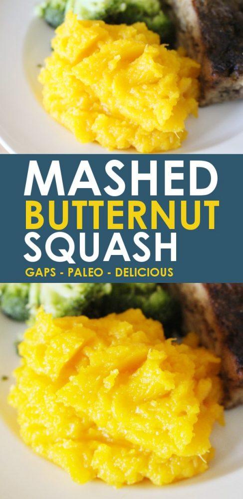 mashed butternut squash recipe