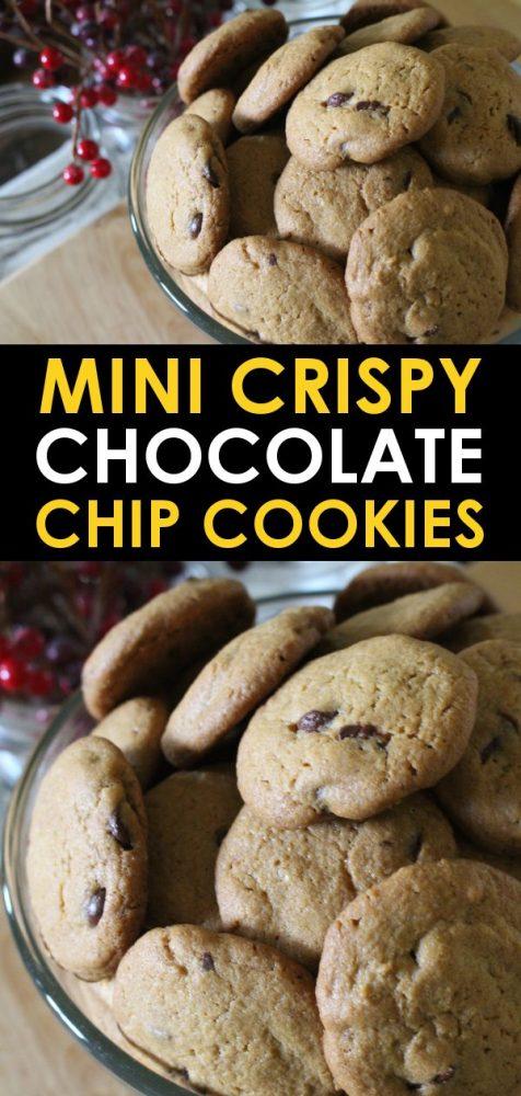 Crispy chocolate chip cookie recipe