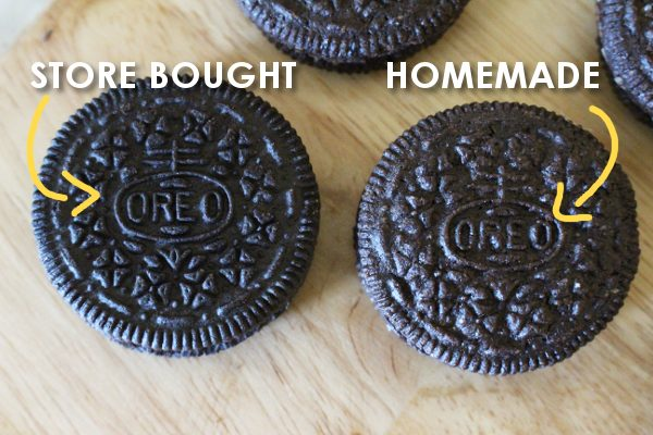 homemade oreos compared to store bought