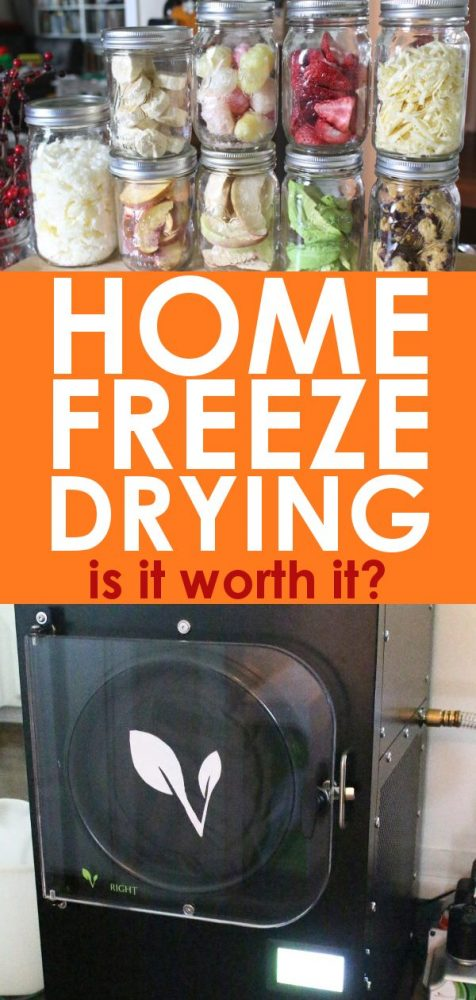 Harvest right home freeze dryer unit review