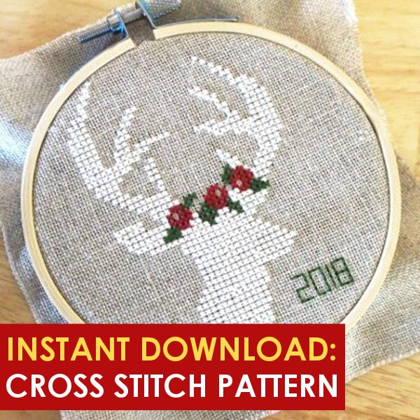 Christmas cross stitch pattern download