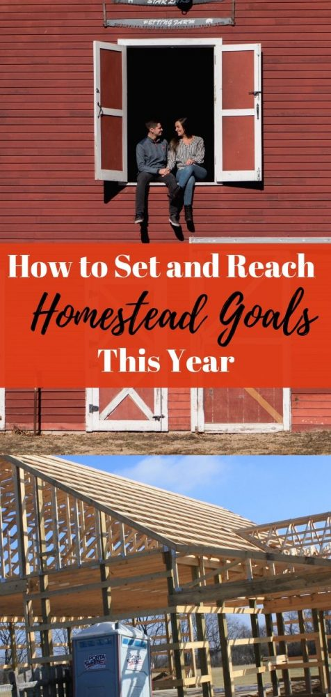 How to set and reach homestead goals