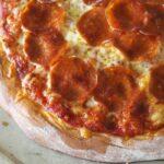 Frozen Ready-to-Bake einkorn pepperoni pizza