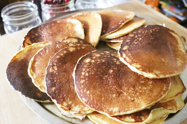Sourdough pancake recipe