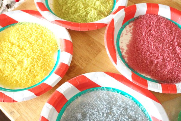 How to Make Colored Sugar - All Natural, and Organic Options!