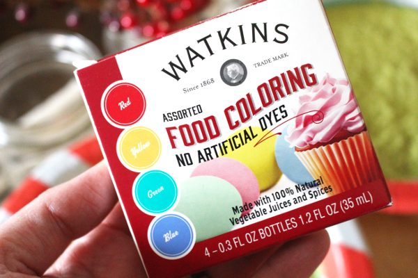 All natural food coloring for homemade colored sugar