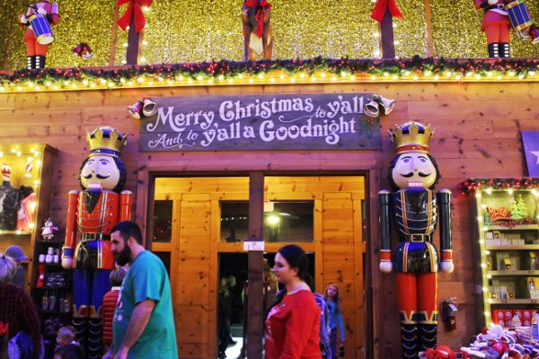 Inside Trading Post Santa's Wonderland
