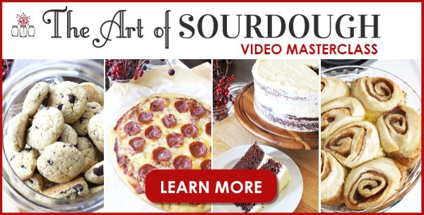 Learn how to make sourdough starter and many sourdough recipes