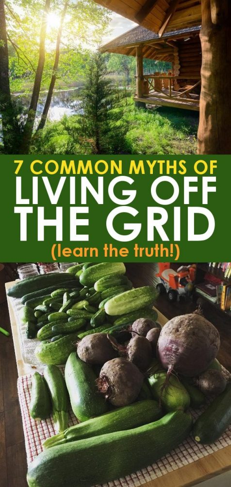 Myths of living off grid