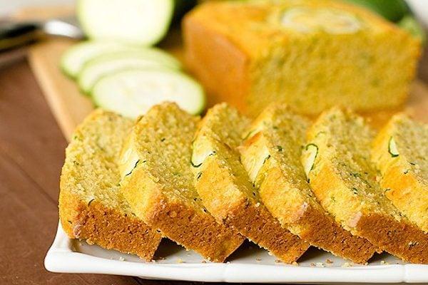 Zucchini cornbread