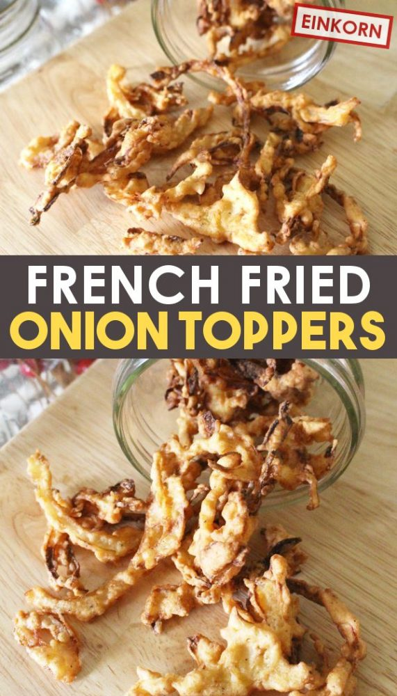 how to make french fried onions at home recipe