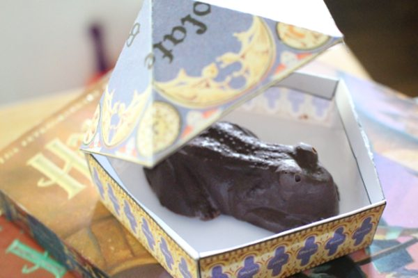 harry chocolate frog boxes