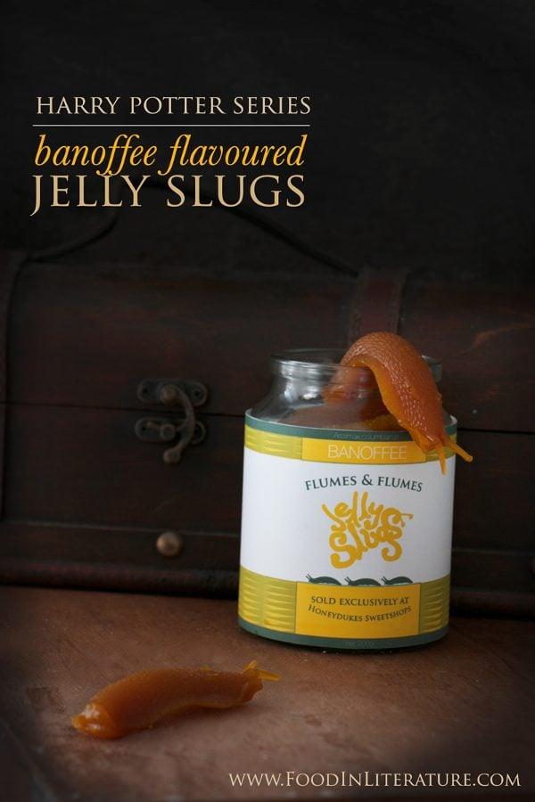harry potter jelly slugs in jars