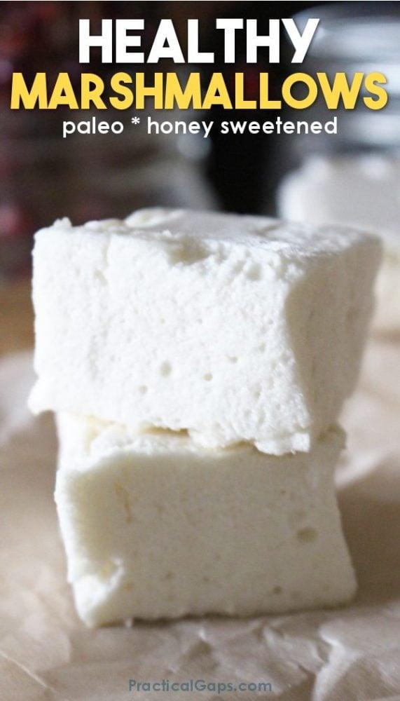 homemade healthy honey marshmallows paleo