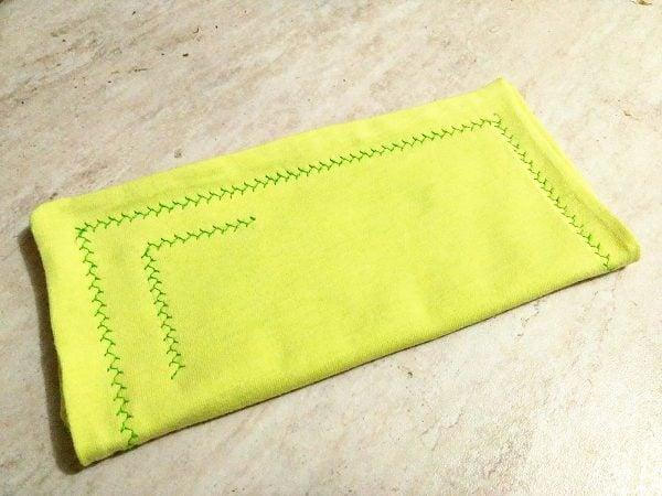 homemade cloth napkins
