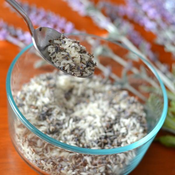 non-toxic potpourri for making hand sewn lavender sachets