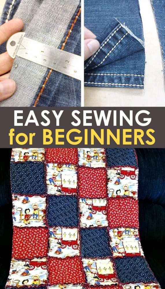 easy sewing projects for beginners promo