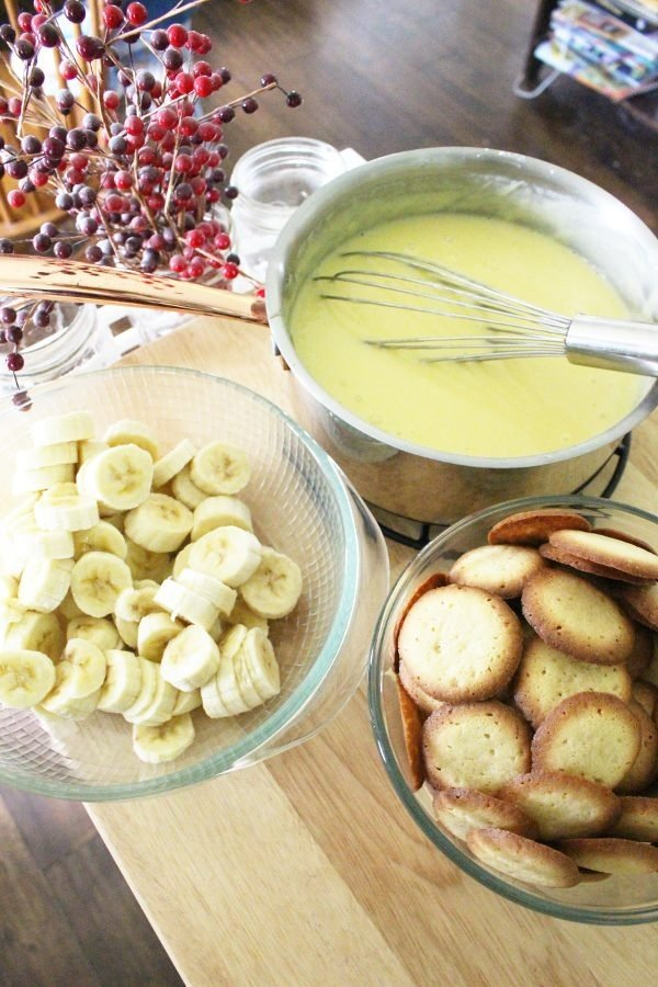 old-fashioned banana pudding recipe ingredients