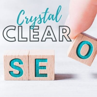 Crystal clear SEO blogging course