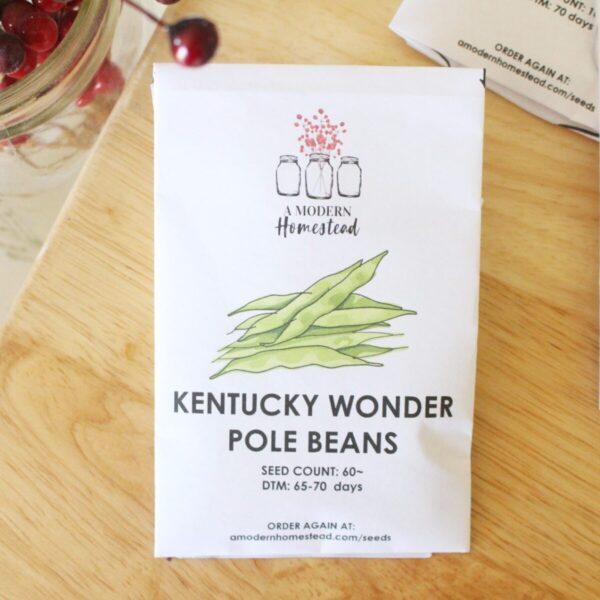 Kentucky Wonder Green Beans Seeds