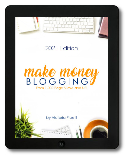 make money blogging at any level ebook cover