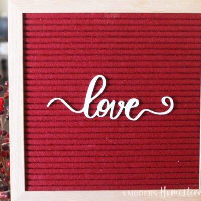 Love Script Icon for Letterboards