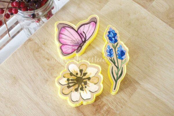Butterfly, Bluebonnets, and Flower Cookie Cutters