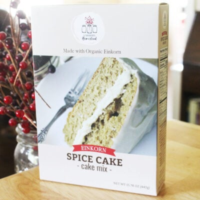 Einkorn Spice Cake Box Mix