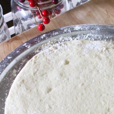 einkorn par baked pizza crust