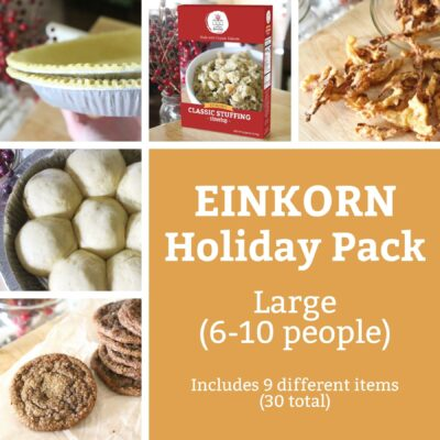 Einkorn Goods Holiday Food Pack Large