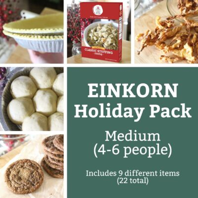 Einkorn Goods Holiday Food Pack Medium